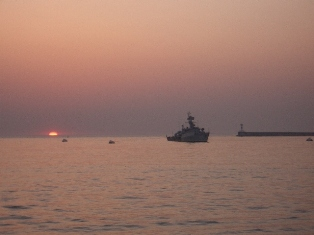 Sunset over the Black Sea, Sevastopol 2006